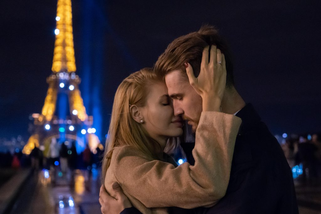 demande au mariage Tour Eiffel